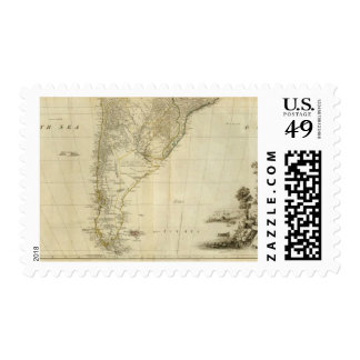 South America Southern Section Postage Stamp