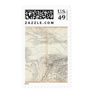 South America, West Indies Stamp