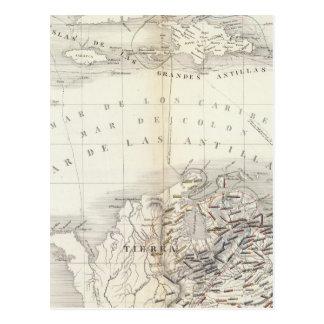 South America, West Indies Postcard
