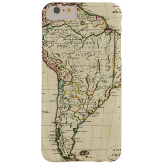 South America with boundaries outlined Barely There iPhone 6 Plus Case