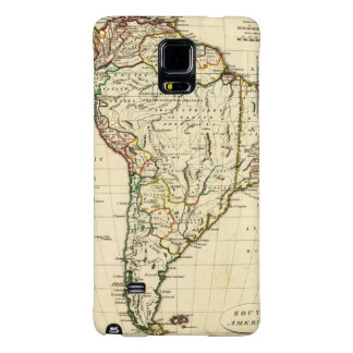 South America with boundaries outlined Galaxy Note 4 Case