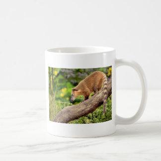 South American Coati on branch Coffee Mug