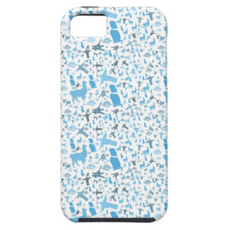 South American Icons Blue iPhone SE/5/5s Case