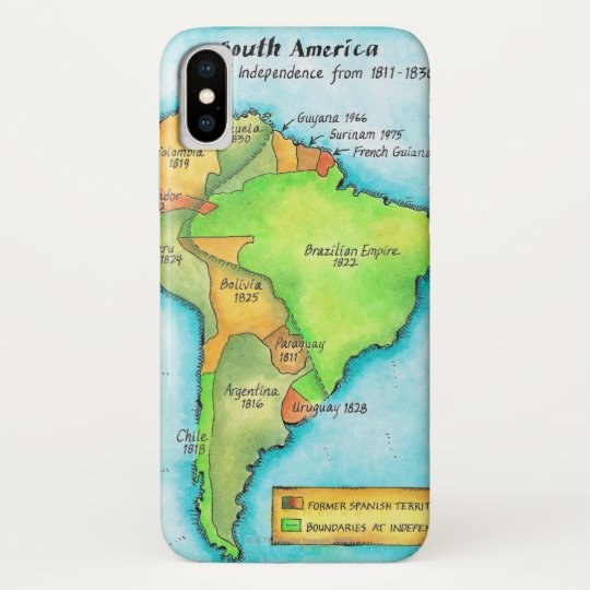 South American Independence Blackberry Case