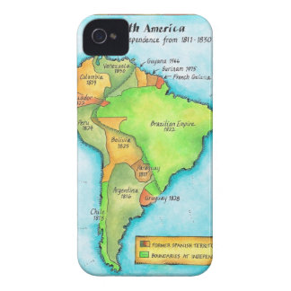 South American Independence iPhone 4 Cover