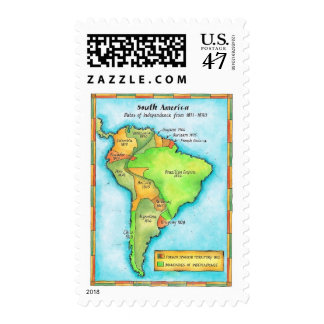 South American Independence Postage
