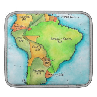 South American Independence Sleeve For iPads
