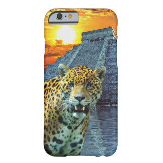 South American Jaguar at Chichen Itza Barely There iPhone 6 Case