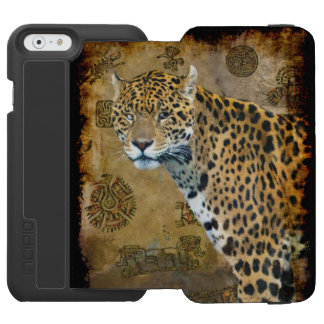 South American Jaguar at Temple of Caracal iPhone 6/6s Wallet Case