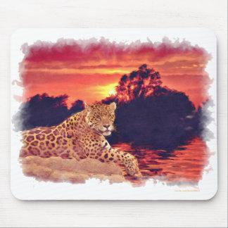 South American Jaguar near Chichen Itza Mouse Pad
