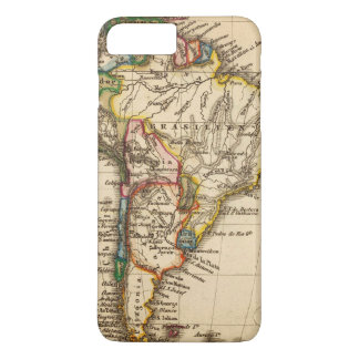 South American Map iPhone 7 Plus Case