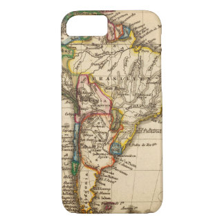 South American Map iPhone 8/7 Case