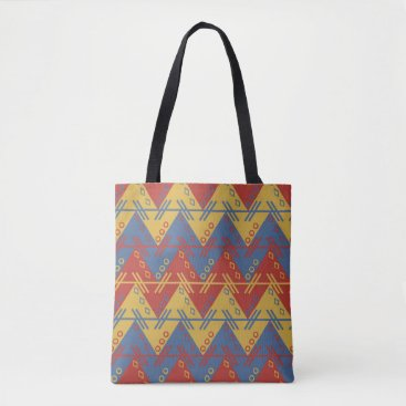 Aztec Themed South American Pattern Tote Bag