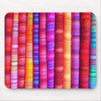 South American Stripe Fabrics Mouse Pad