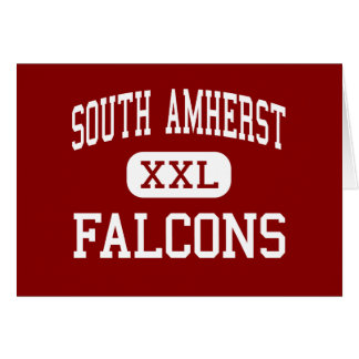 South Amherst - Falcons - Middle - Amherst Ohio Greeting Card