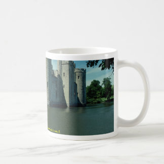 South and east facades of Bodiam Castle, Sussex, E Mugs
