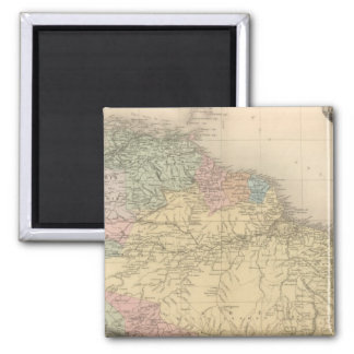 South and Northern America Refrigerator Magnet