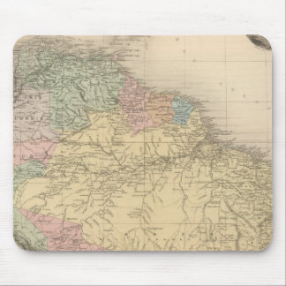 South and Northern America Mouse Pad