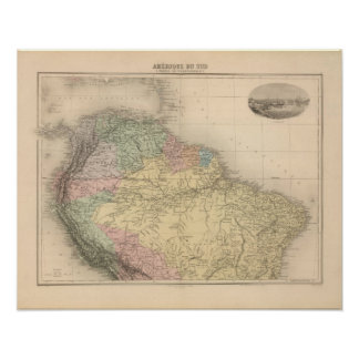 South and Northern America Posters