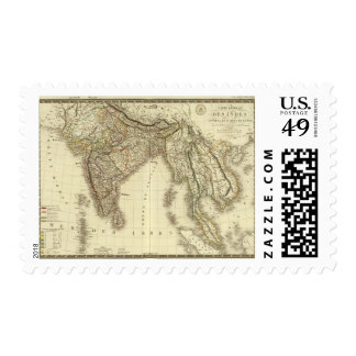 South Asia Postage Stamp
