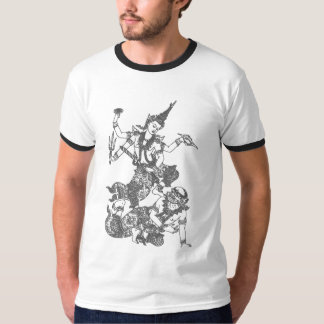 SOUTH ASIAN ART GOD FIGHTING T-Shirt
