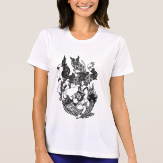 SOUTH ASIAN ART GOD MERMAID T-Shirt