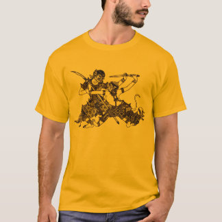 SOUTH ASIAN HINDU GODS HANUMAN SWORD T-Shirt