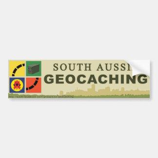South Aussie Geocaching BUMPER STICKER Car Bumper Sticker
