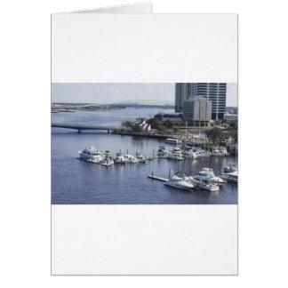 south bank Jacksonville marina Card