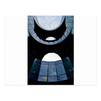 south bank London building abstract Postcard