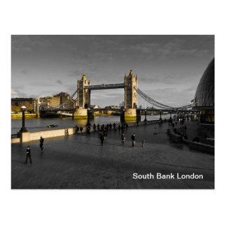 South Bank London Postcard