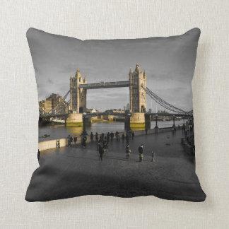 South Bank London Throw Pillow