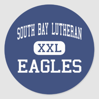 South Bay Lutheran - Eagles - High - Torrance Classic Round Sticker