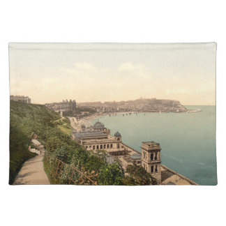South Bay, Scarborough, Yorkshire, England Cloth Placemat