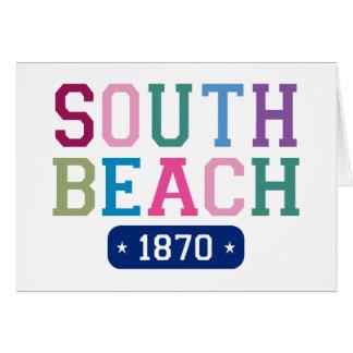 South Beach 1870 Card