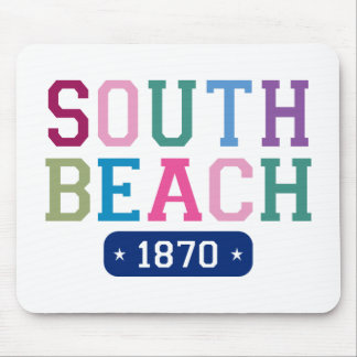 South Beach 1870 Mouse Pad