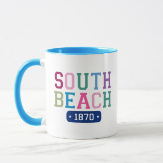 South Beach 1870 Mug