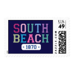 South Beach 1870 Postage Stamp