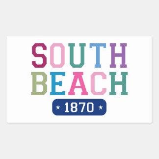 South Beach 1870 Sticker