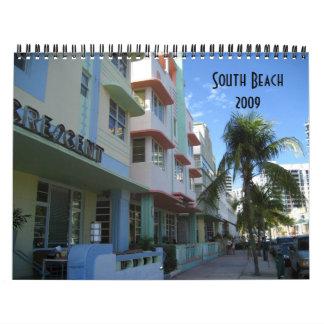 South Beach 2009 Calendars