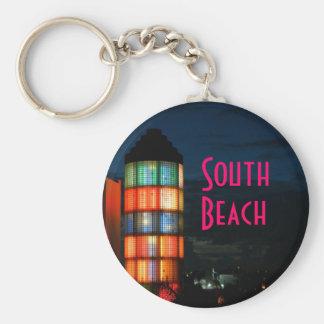 ~South Beach~ 5th St. KEYCHAIN
