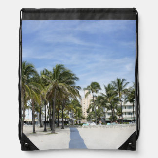 South Beach Drawstring Backpack