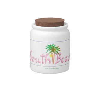 South Beach, FL Candy Dish