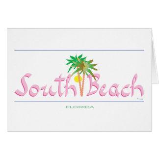 South Beach, FL Card