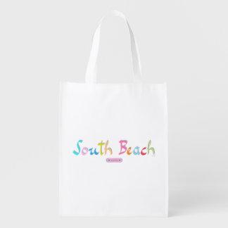 South Beach, Florida est. 1870 Grocery Bag