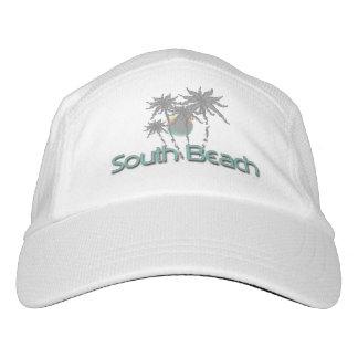 South Beach, Florida Palms Cool Adjustable Hat