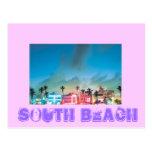 SOUTH BEACH, Florida Post Card