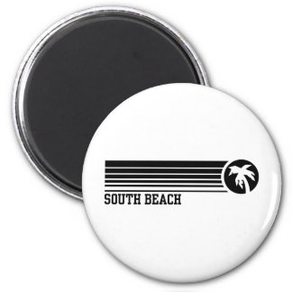 South Beach Fridge Magnet