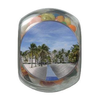 South Beach Jelly Belly Candy Jar