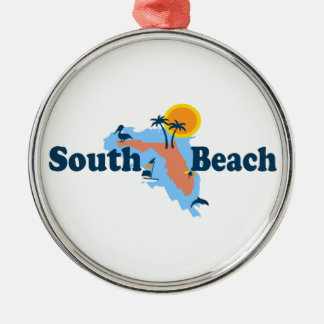 South Beach, Metal Ornament